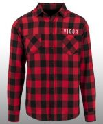 oblečení pro hráče Košile Vigor - Károvaná (velikost L)