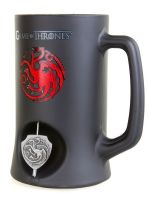 Korbeľ Game of Thrones - Targaryen 3D Rotating Emblem