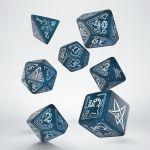 Hračka Kostky Call of Cthulhu - Tmavě modré