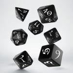 Hračka Kostky Classic RPG - černo-bílé