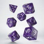 Hračka Kostky Classic RPG - fialovo-bílé