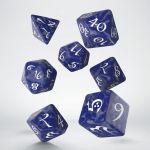 Hračka Kostky Classic RPG - kobaltově-bílé