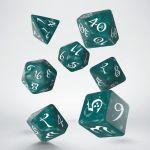 Hračka Kostky Classic RPG - zeleno-bílé