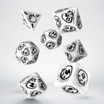 Hračka Kostky Dragons - černo-bílé
