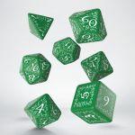 Hračka Kostky Elvish - zeleno-bílé