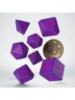 Hračka Kostky Zaklínač - Marigold (fialovo-růžové)