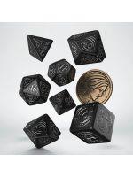Hračka Kostky Zaklínač - Yennefer (černé)