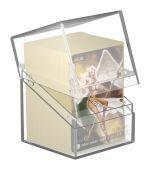 Hračka Krabička na karty Ultimate Guard - Boulder Deck Case Standard Clear (100+)