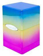 Hračka Krabička na karty Ultra Pro - Satin Tower (Rainbow)