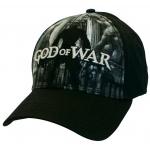 Hračka Kšiltovka God of War: Baseball Cap Black & White