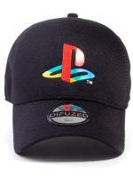 Hračka Kšiltovka PlayStation - Logo (černá)