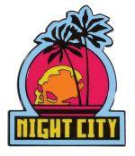 Hračka Magnet Cyberpunk - Night City