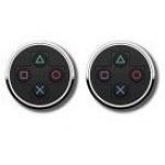 Hračka Manžetové knoflíčky PlayStation - symboly