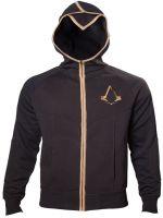 oblečení pro hráče Mikina Assassins Creed: Syndicate - Bronze Logo (velikost L)
