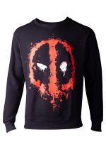 oblečení pro hráče Mikina Deadpool - Dripping Face (velikost XL)