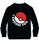 oblečení pro hráče Mikina dětská Pokémon - I Choose You (velikost 146)