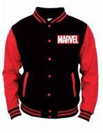 oblečení pro hráče Mikina Marvel - College Jacket (velikost L)