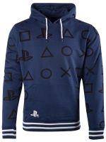 oblečení pro hráče Mikina PlayStation - Icons (velikost S)