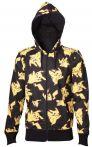 oblečení pro hráče Mikina Pokémon - Pikachu All Over (velikost L)