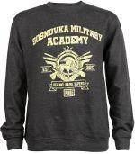 Mikina PUBG - Military Academy (americká veľ. S / európska M) (HRY)