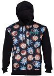 oblečení pro hráče Mikina Rick and Morty - Pattern (velikost S)
