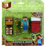 Figúrka Minecraft Overworld - Steve (s výbavou)