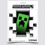 Nálepka Minecraft Creeper (inside sticker)