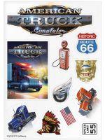 Nálepky American Truck Simulator (HRY)