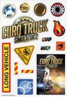 Hračka Nálepky Euro Truck Simulator