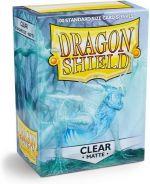 Hračka Ochranné obaly na karty Dragon Shield - Standard Sleeves Matte Clear (100 ks)