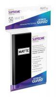 Hračka Ochranné obaly na karty Ultimate Guard - Supreme UX Sleeves Standard Matte Black (50 ks)