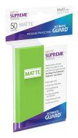 Hračka Ochranné obaly na karty Ultimate Guard - Supreme UX Sleeves Standard Matte Light Green (50 ks)