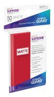 Hračka Ochranné obaly na karty Ultimate Guard - Supreme UX Sleeves Standard Matte Red (50 ks)