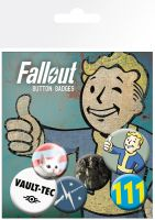 Odznaky Fallout 4 - Mix (HRY)