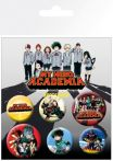 Odznaky My Hero Academia - Mix