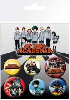 Odznaky My Hero Academia - Mix (HRY)