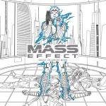 Kniha Omalovánky pro dospělé Mass Effect