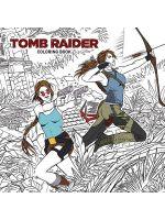 Kniha Omalovánky pro dospělé Tomb Raider