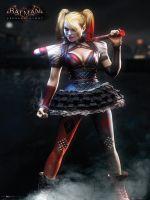 Plagát Batman: Arkham Knight - Harley Quinn (HRY)