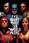 Plakát Justice League - Faces