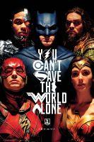 Plagát Justice League - Faces (HRY)