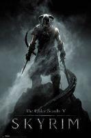 Plagát Skyrim - Dragonborn (HRY)