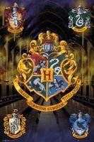 Hračka Plakát Harry Potter - Crests