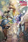 Plakát JoJo's Bizarre Adventure - Joseph and Ceasar