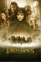 Plagát Lord of the Rings - The Fellowship of the Ring (HRY)