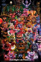 Plagát Five Nights at Freddys - Ultimate Group (HRY)