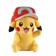Plyšák Pokémon Pikachu s čapicou