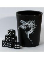 Pohár na kocky - Dragon Emblem (+ 6 kociek) (STHRY)