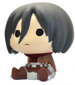 Hračka Pokladnička Attack on Titan - Mikasa (Chibi)