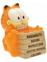 Pokladnička Garfield - Garfield with Pizza (Chibi)